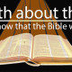 The Truth About the Bible