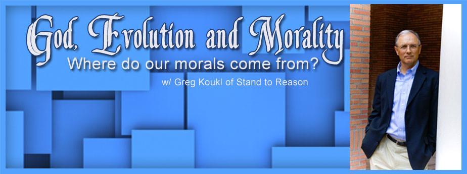 God, Evolution and Morals