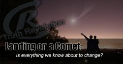 Landing on a Comet?