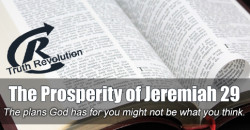 The Prosperity of Jeremiah 29