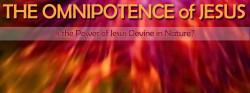 The Omnipotence of Jesus