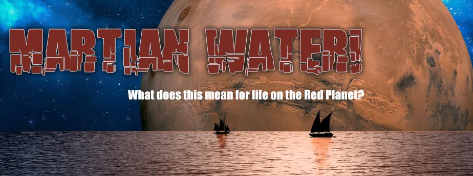 Martian Water!