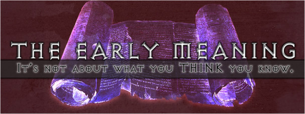 the-early-meaning