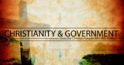 Christianity and the Government